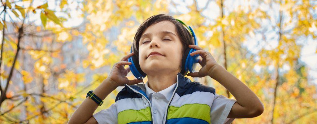 Kind Kopfhörer